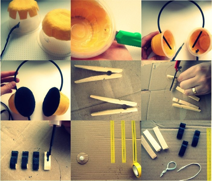 DIY pick up de dj de papelão
